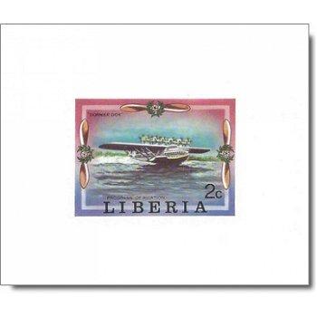 Geschichte der Luftfahrt - 6 Luxusblocks postfrisch, Katalog-Nr. 1047 B-1052 B, Liberia