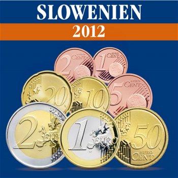 Slowenien - Kursmünzensatz 2012