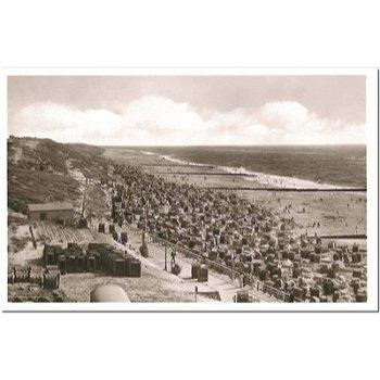 2280 Westerland - Postcard & quot; Beach & quot;