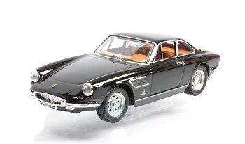 Modellauto:Ferrari 330 GTC Coupé von 1966, schwarz(Best, 1:43)