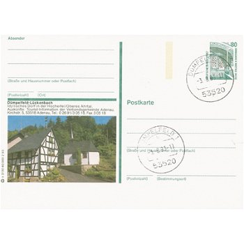 5489 Dümpfeld - Bildpostkarte