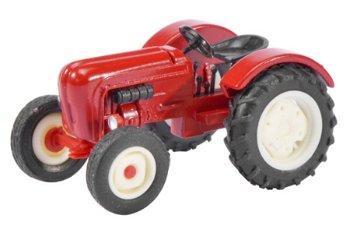 Modell-Traktor:Porsche Diesel Junior, rot(Schuco, 1:87)