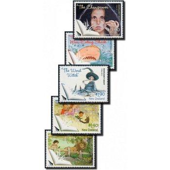Margaret Mahy - 5 Briefmarken postfrisch, Neuseeland