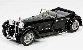 Modellauto:Daimler Double Six 50 Convertible von 1931, schwarz(IXO Museum, 1:43)