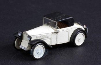 Modellauto:DKW F1 Cabrio 2 +1, elfenbein-schwarz(Saller, 1:87)