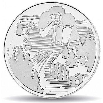 Der Riese Gargantua, 20 Franken Münze 1996 Schweiz, Stempelglanz