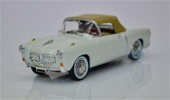 Modellauto:Fiat 1100 TV Cabrio von 1959, weiß(Starline Models, 1:43)
