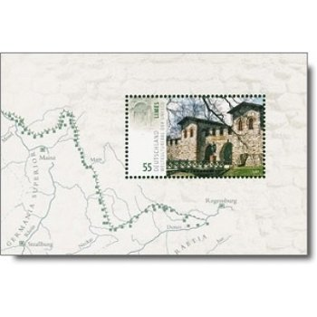 UNESCO-Welterbe/Limes, Block 72 postfrisch, Katalog-Nr. 2623, Bundesrepublik