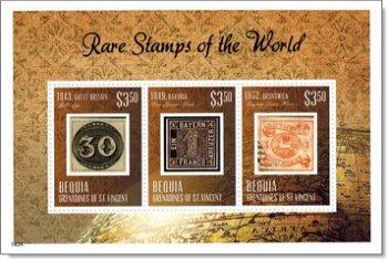 Seltene Briefmarken - Briefmarken-Block postfrisch, St. Vincent und Grenadinen