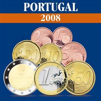 Portugal - Kursmünzensatz 2008