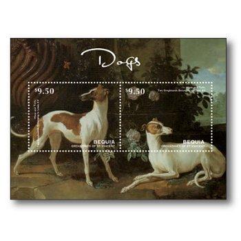 Hunde - Briefmarken-Block postfrisch, St. Vincent