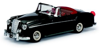 Modellauto:RollfixMercedes-Benz 220 S Cabriolet, schwarz(Schuco/Classic)