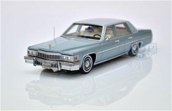 Modellauto:Cadillac De Ville Sedan von 1977, grau(PremiumX, 1:43)