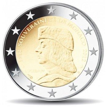 500 Jahre Souveränität, 2 Euro Münze 2012 polierte Platte, Monaco