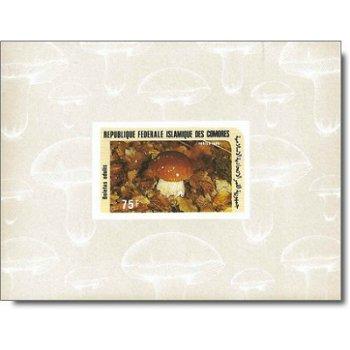 Pilze - 5 Luxusblocks postfrisch, Katalog-Nr. 762-766, Komoren