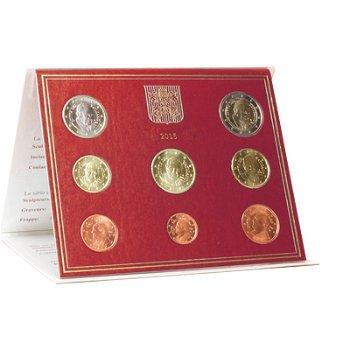 Kursmünzensatz Vatikan 2015, Stempelglanz