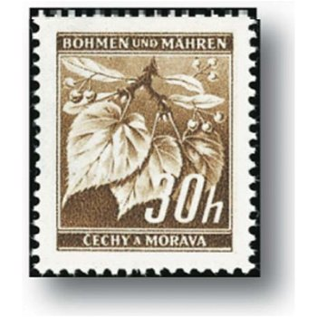 Abgeänderte Farbe - Briefmarke postfrisch, Katalog-Nr. 64, Böhmen und Mähren