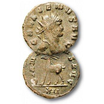 Der Zoo des Gallienus, Münze Römische Kaiserzeit