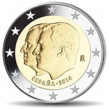 2-Euro-Münze 2014, Proklamation von König Felipe VI.,Spanien