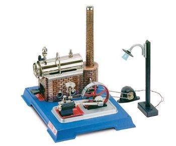 Dampfmodell:Dampfmaschine D 105mit elektrischem Licht(Wilesco)