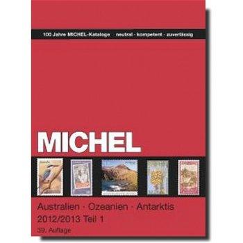 MICHEL Briefmarken-Katalog Übersee, Australien/Ozeanien/Antarktis (A-M) 2012/2013, in Farbe