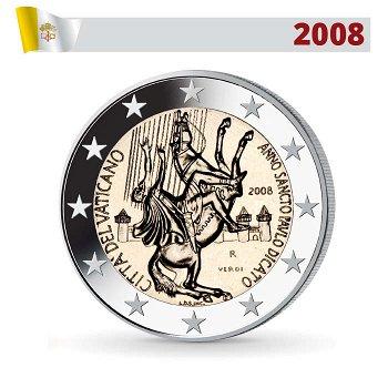 2 Euro Münze 2008, Paulusjahr, Vatikan