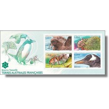 Flora und Fauna - Briefmarken-Block postfrisch, Katalog-Nr. 766-69, Block 29, TAAF