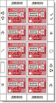 Nachhaltige Entwicklung - Kleinbogen postfrisch, Bundesrepublik Deutschland, Michel-Nr. 3525
