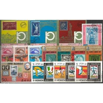 Marke auf Marke - 100 verschiedene Briefmarken