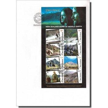 Herr der Ringe - Heimat auf Mittelerde - Ersttagsbrief, Neuseeland