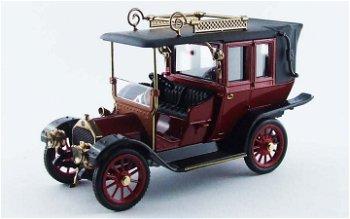 Modellauto:Mercedes 20-35 PS RHD von 1909, dunkelrot(RIO, 1:43)