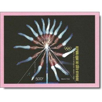 Olympische Sommerspiele 1988, Seoul - Briefmarken-Block ungezähnt postfrisch, Katalog-Nr. 974 Bl. 30