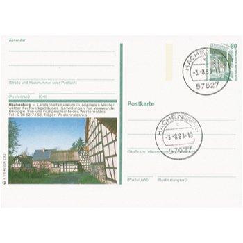 5238 Hacheburg - Bildpostkarte