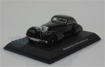 Modellauto:Mercedes-Benz 540 K Autobahnkurier, schwarz(BoS, 1:87)