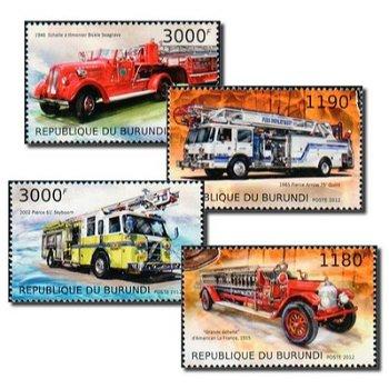 Feuerwehr - 4 Briefmarken postfrisch, Burundi