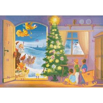 """Philatelistischer Adventskalender - Motiv """"Weihnachtliche Stube"""""""