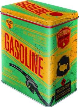Nostalgische Blechdose:- Gasoline -(Nostalgic Art, Gr. L)