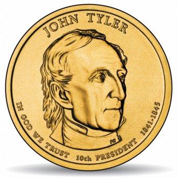 John Tyler, Präsidentendollar 2009, USA