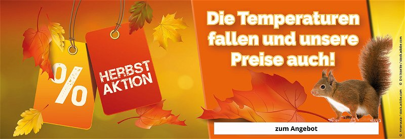 Herbstaktion, Sonderangebote