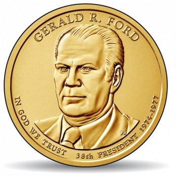 Gerald R. Ford, Präsidentendollar 2016, USA