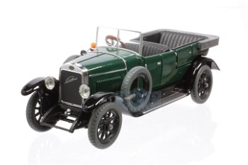 Modellauto:Laurin & Klement - Škoda 110 Combi von 1927, grün(Abrex, 1:43)