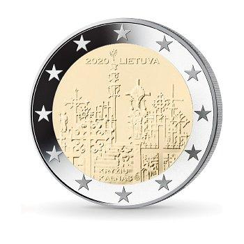 Hügel der Kreuze - 2 Euro Münze 2020, Litauen