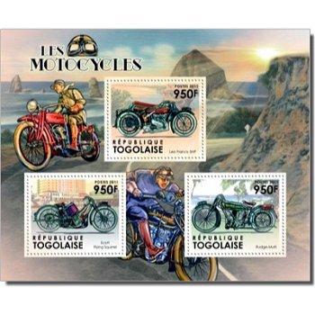 Motorräder - Briefmarken-Block postfrisch, Togo