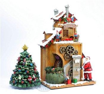 Die Spielzeugfabrik vom Weihnachstmann(Spieluhrenwelt)