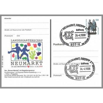 8430 Neumarkt/Oberpfalz - Bildpostkarte