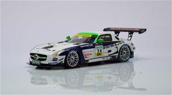 """Modellauto:Mercedes-Benz SLS AMG GT3 mit der # 34""""Heico Motorsport"""" - Arnold/Zuber(Schuco, 1:43)"""