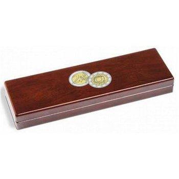 Münzetui Volterra, 30 Jahre Europa-Flagge, für 5 Münzen der 2-Euro-Serie, Leuchtturm 348339