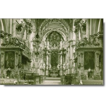 8091 Erbach - Postcard & quot; Church & quot;