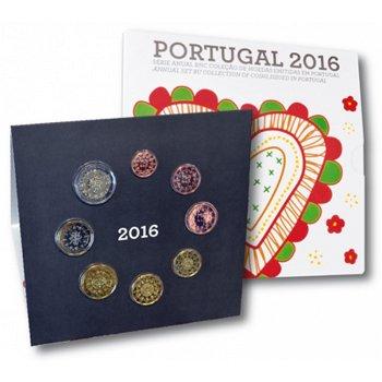 Kursmünzensatz 2016, Stempelglanz, Portugal