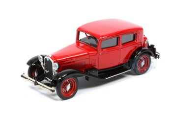 Modell:Alfa Romeo 6C 1750 von 1932, rot-schwarz(Rio, 1:43)